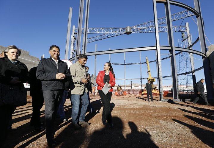 Avanza construcción del nuevo DIF Estatal