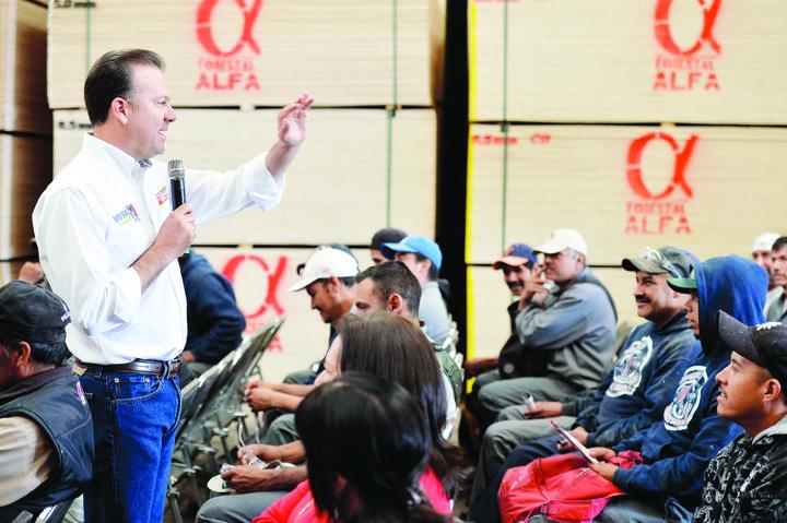 Durango, preparado para consolidarse en la industria: Esteban