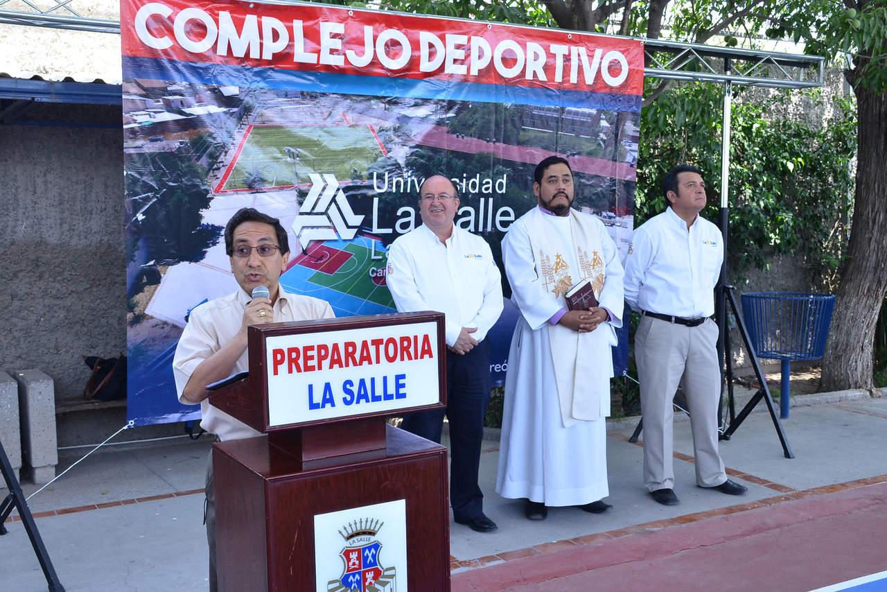 Inauguran complejo deportivo de universidad la salle laguna - Complejo deportivo el mayorazgo ...