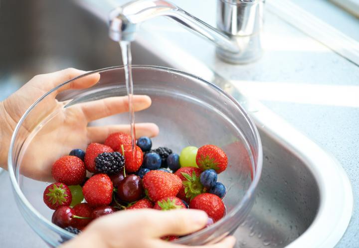 Pasos Para Lavar Correctamente Las Verduras Y Frutas