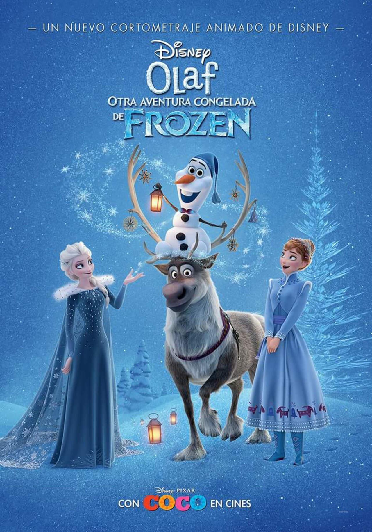 Disney estrenará en TV nuevo corto de \'Olaf\'