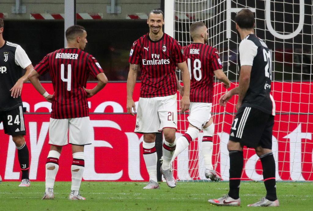 Milan le remonta a la 'Juve' en duelo de la Serie A