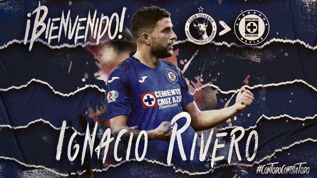 Cruz Azul anuncia la llegada de Ignacio Rivero