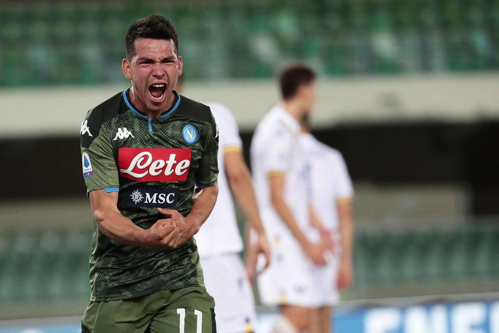 Napoli pedirá 56 millones de dólares por el 'Chucky' Lozano