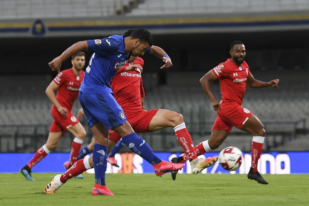 Cruz Azul vence a Toluca y lo elimina de la Copa por México