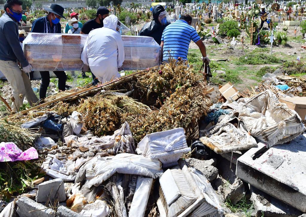 Supera en muertes COVID-19 a la violencia en México