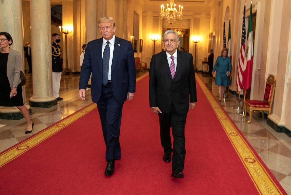 Donald Trump ha cambiando su discurso sobre los mexicanos: López Obrador
