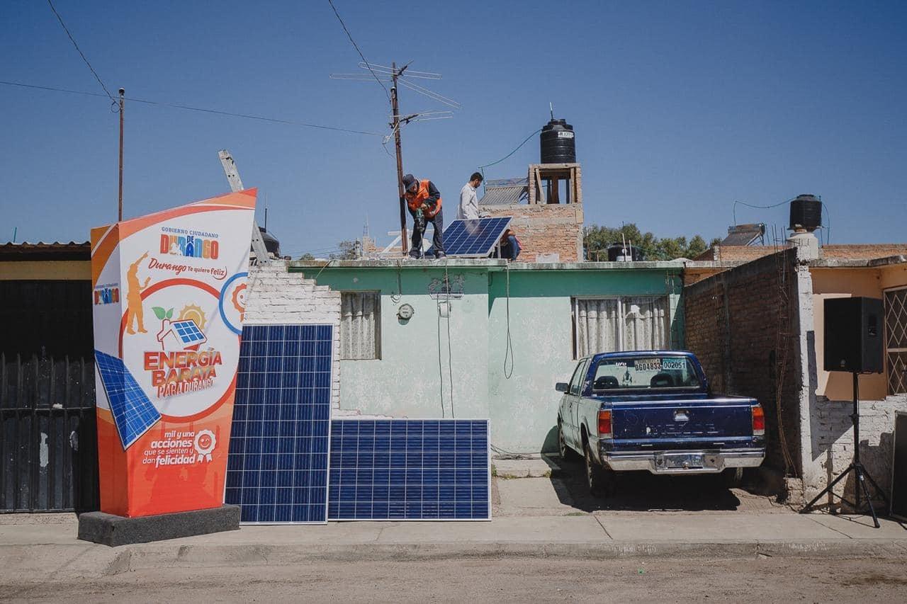 En duda, esquema de páneles solares