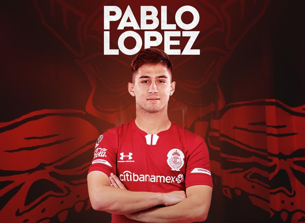 Toluca oficializa la llegada del uruguayo Pablo López