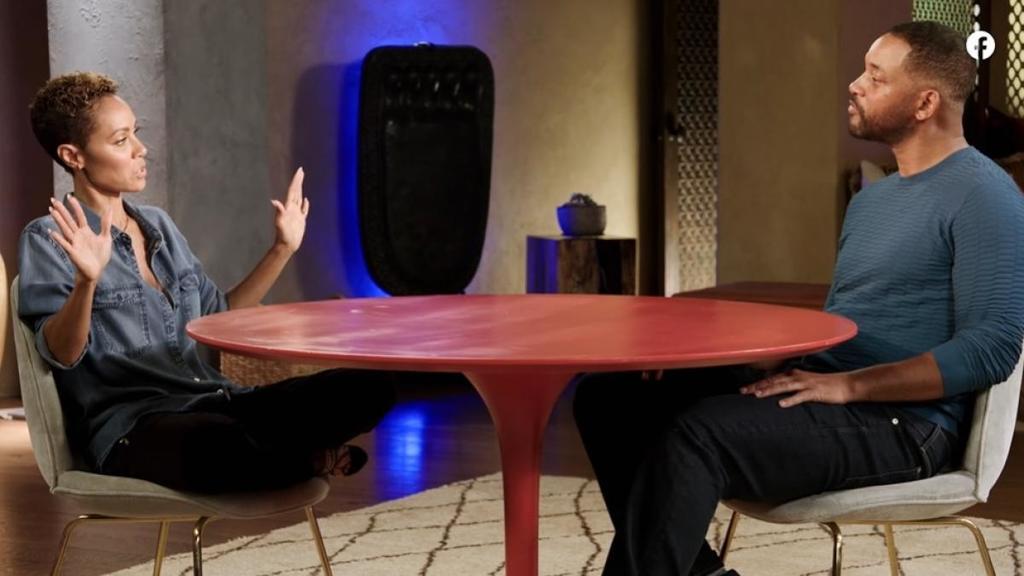 Will Smith y Jada Pinkett ventilan crisis matrimonial