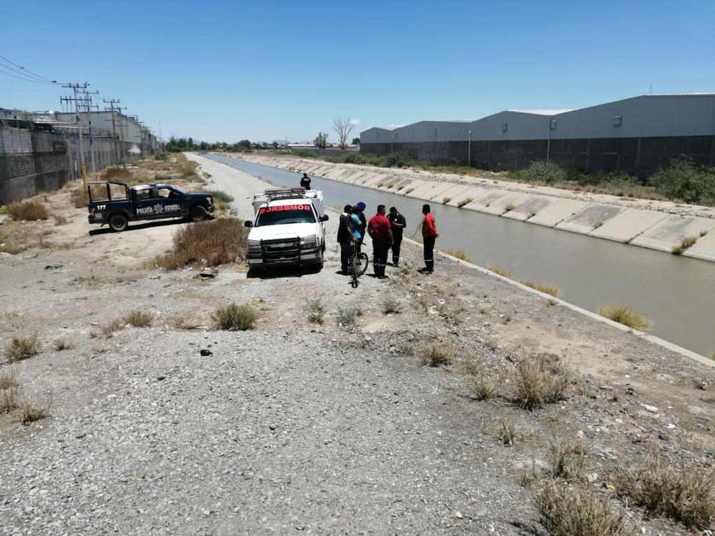 Buscan a menor que ingresó a canal de riego en Gómez Palacio y no logró salir