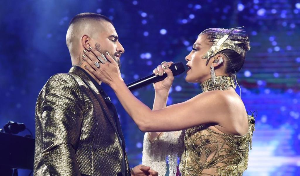 Jennifer López y Maluma se encuentran juntos trabajando en nueva música