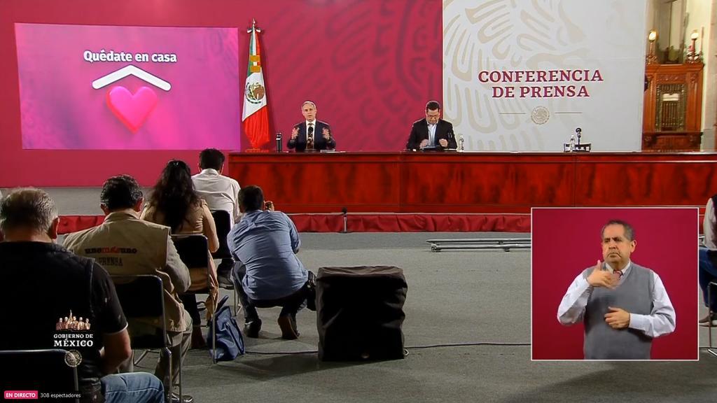 Señala Salud que velocidad de epidemia ha disminuido en México