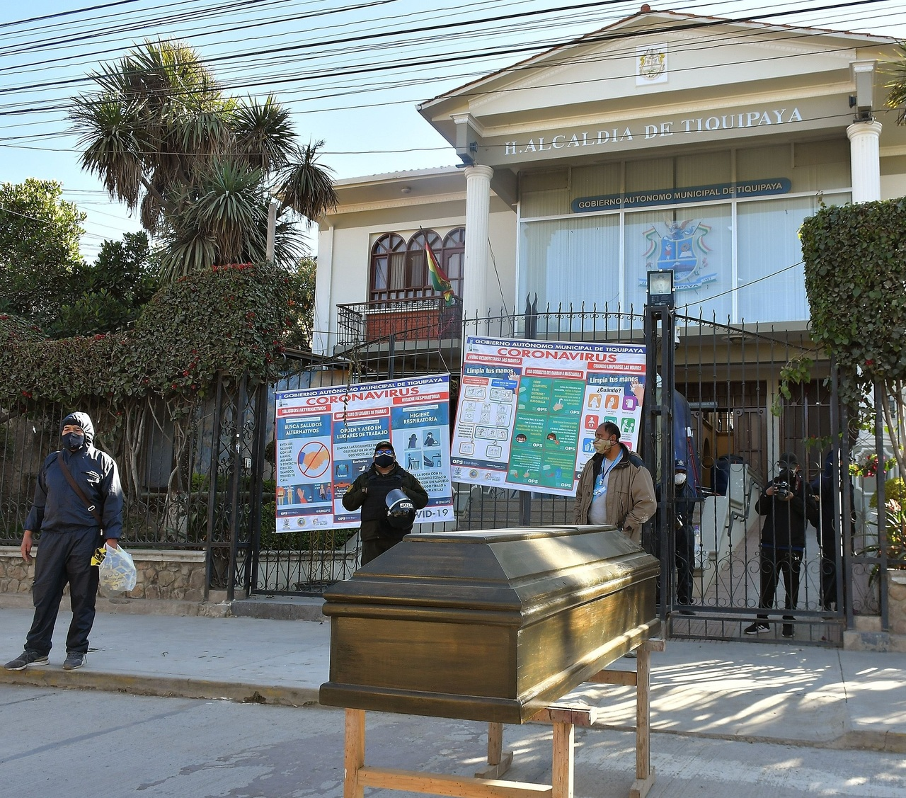 Bolivia aplica un gobierno virtual