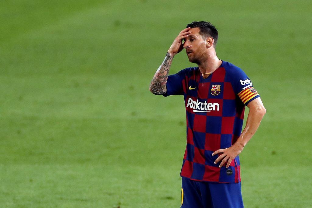 Es el reflejo del año, hemos sido un equipo muy débil e irregular: Messi