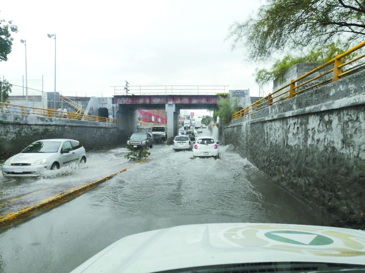 Monitorean áreas críticas por lluvias