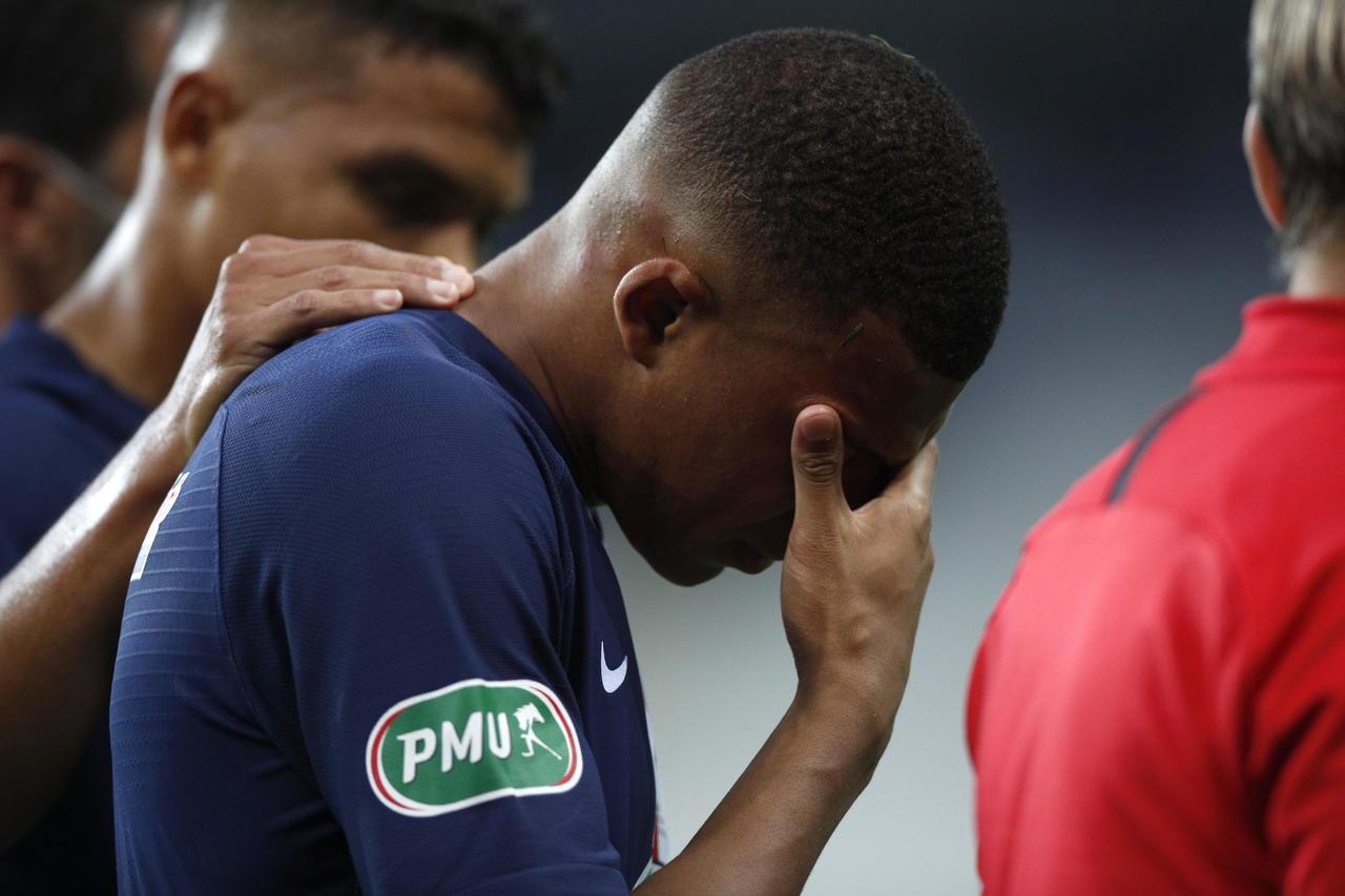 Mbappé estará fuera tres semanas