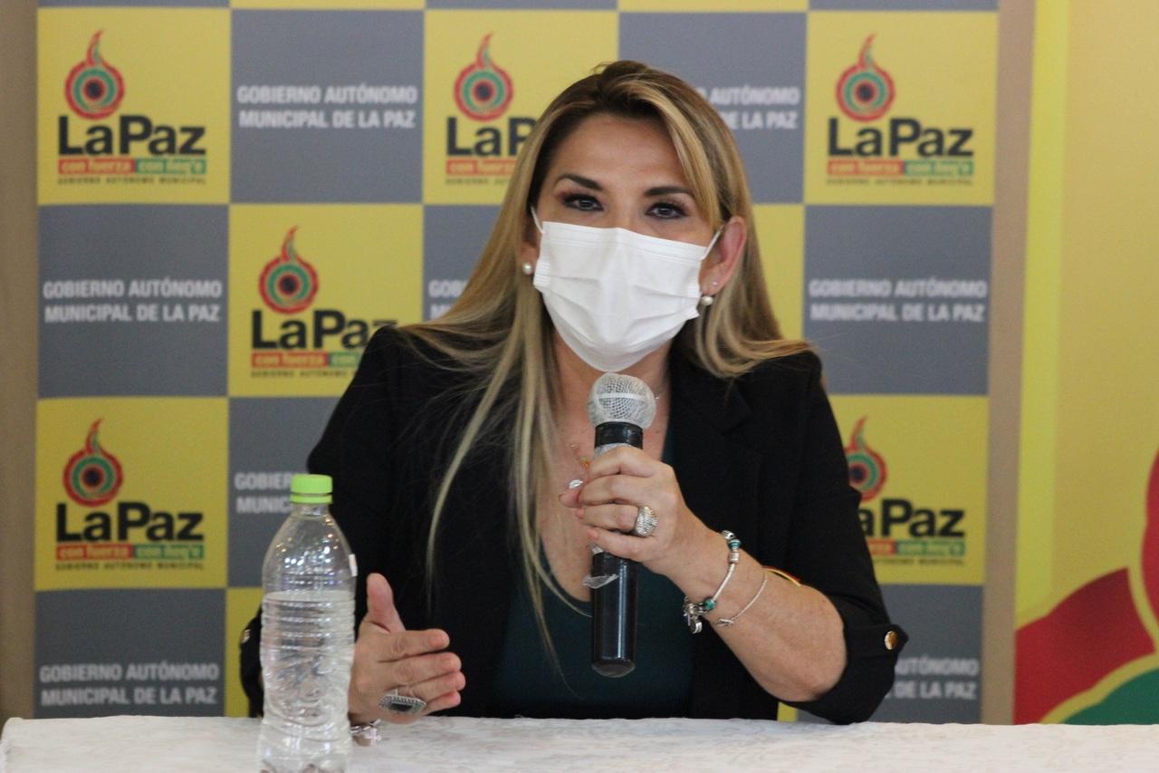 Supera enfermedad Presidenta de Bolivia