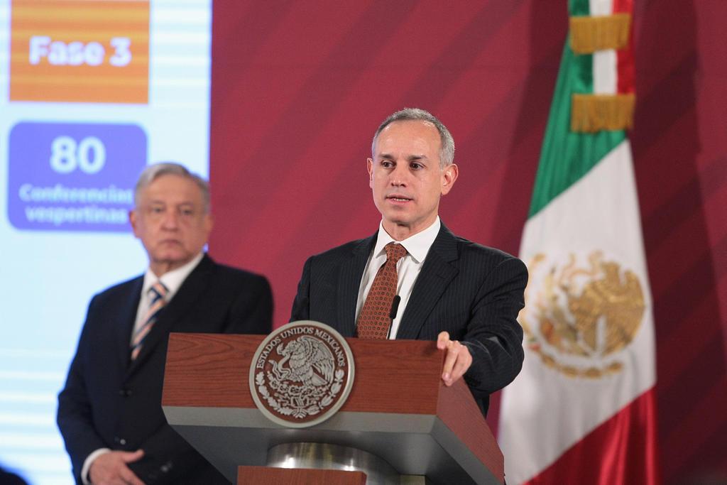 López-Gatell recomienda uso de cubrebocas como medida de prevención complementaria