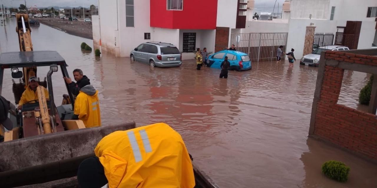 Fueron 40 colonias las más afectadas por lluvia en Durango
