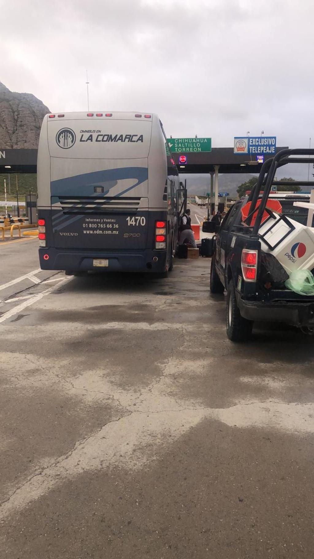 Muere mujer durante viaje en autobús sobre la autopista Gómez Palacio-Durango