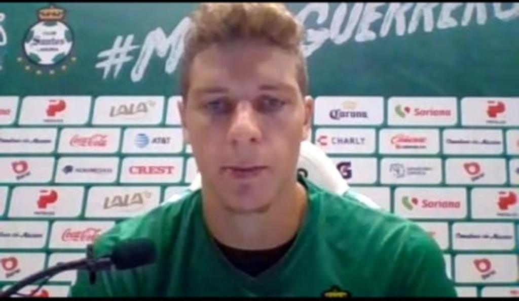 Julio Furch espera que se recuperen los disparos a gol ante Chivas