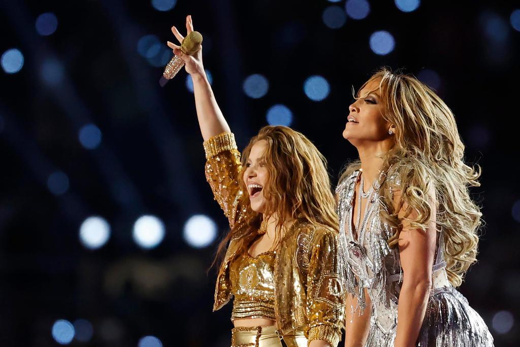J.Lo y Shakira reciben 4 nominaciones al Emmy por su show del Super Bowl