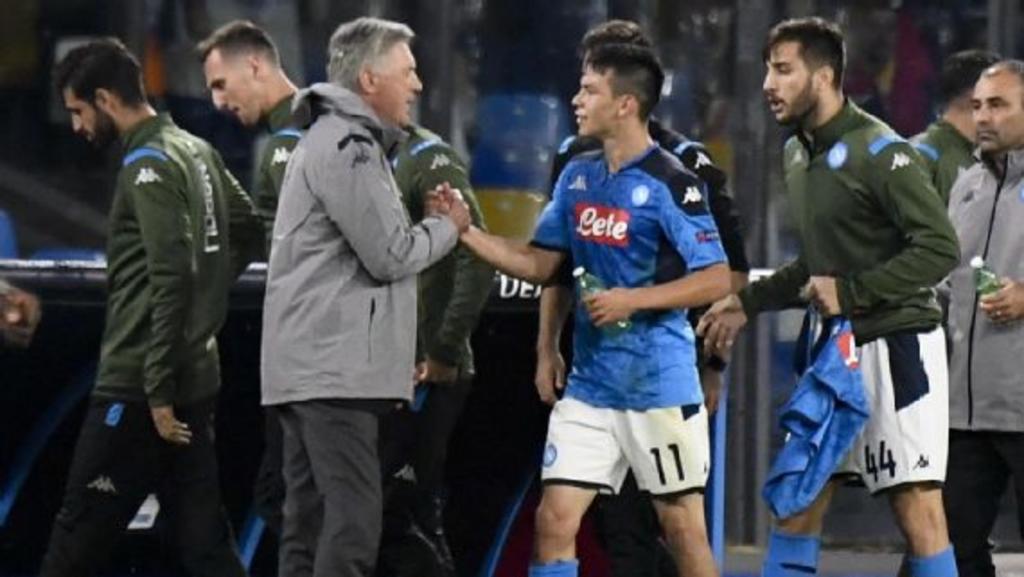 Ancelotti aún sueña con tener al 'Chucky' Lozano en el Everton