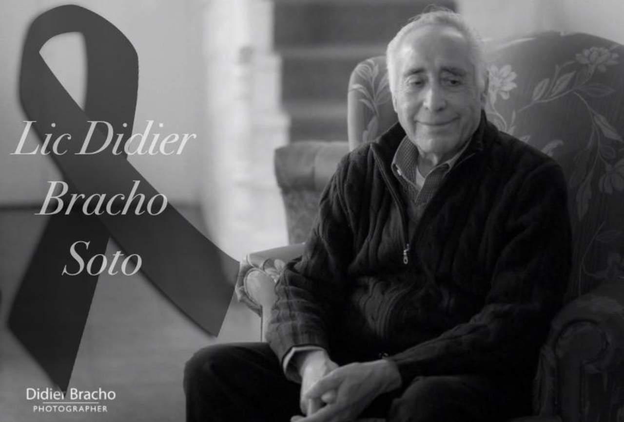 Fallece Don Didier Bracho, ícono del periodismo en Durango