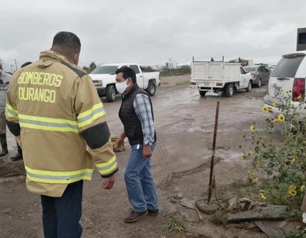 Rescataron a 22 familias por lluvias, reporta PC