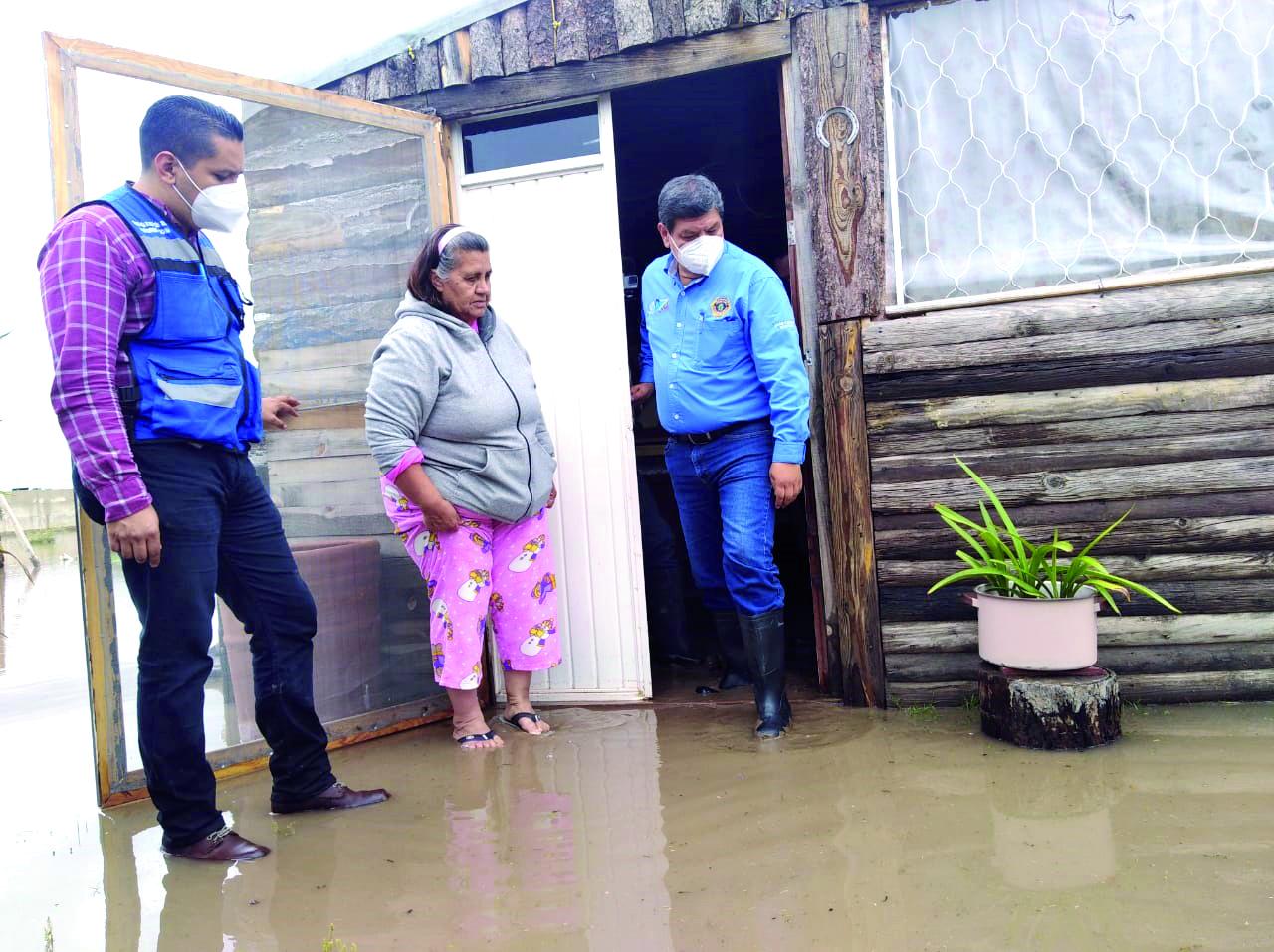 Respuesta inmediata de la SSP ante lluvias: Javier Castrellón