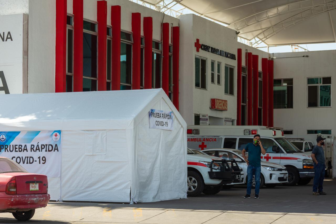 Cruz Roja ya realiza pruebas PCR