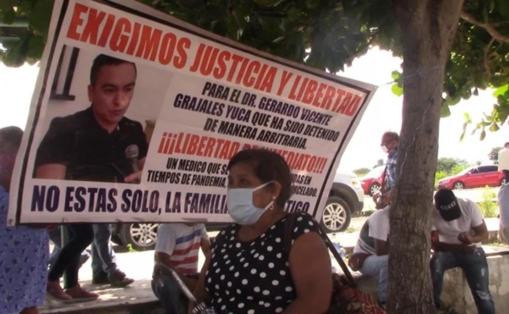 Vinculan a proceso a doctor acusado por muerte de político en Chiapas