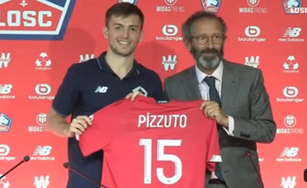 Presentan al mexicano Eugenio Pizzuto como nuevo jugador del Lille de Francia