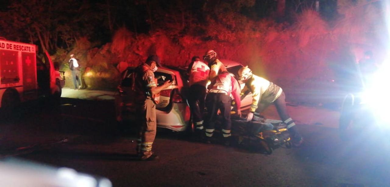 Aparatoso accidente en la 'Súper' deja varios lesionados