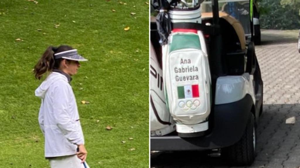 Fotos de Ana Guevara jugando golf provocan críticas en redes