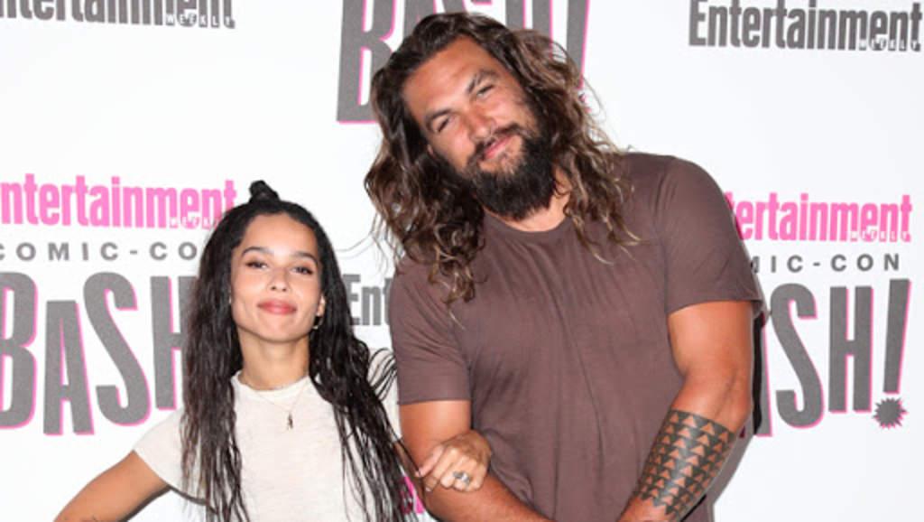 Zoë Kravitz felicita a su padrastro Jason Momoa por su cumpleaños 41