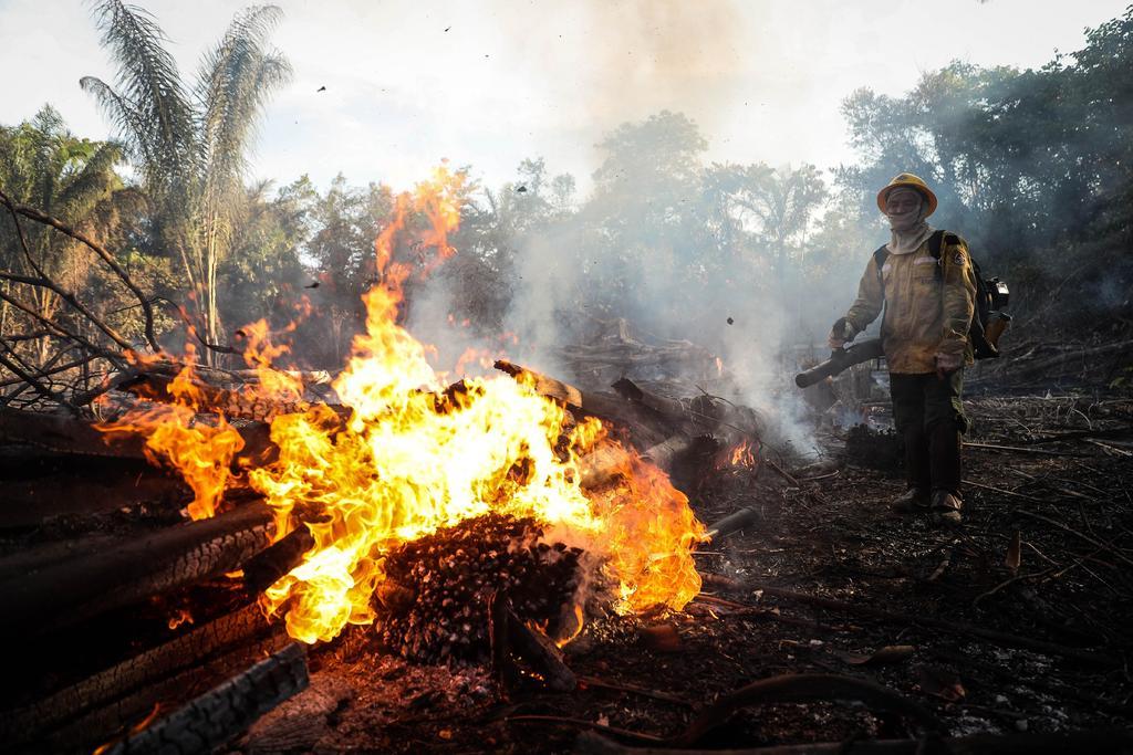 Incendios vuelven a amenazar la Amazonía brasileña