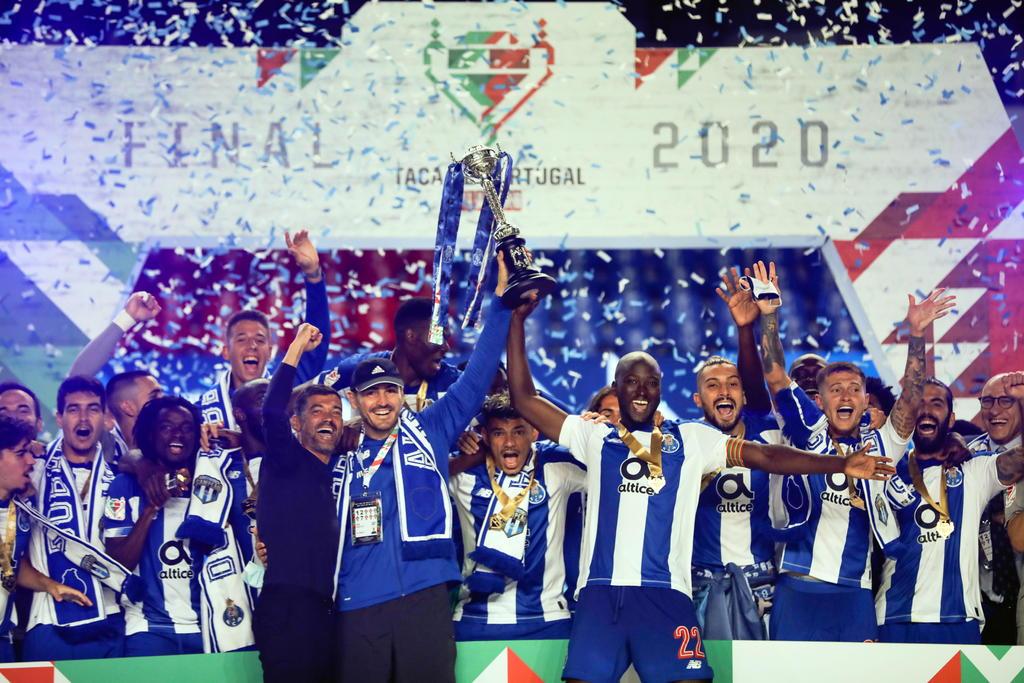 Porto se convierte en campeón de la Copa de Portugal
