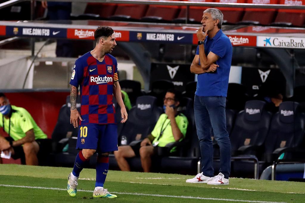 Barcelona respalda a Setién sin descartar a Xavi para dirigir en un futuro