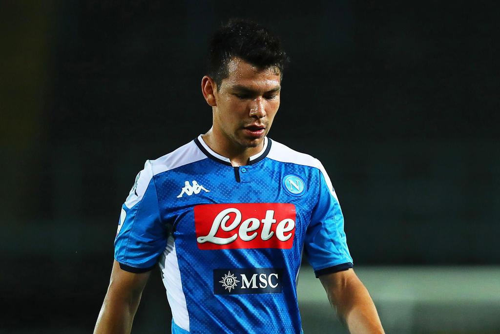 'Chucky' Lozano tiene participación en el último juego de la Serie A del Napoli