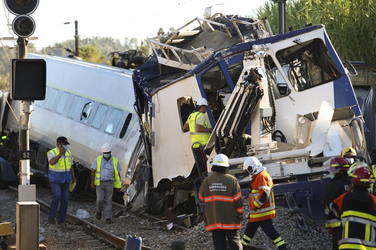 Otro accidente ferroviario en Portugal; 1 muerto
