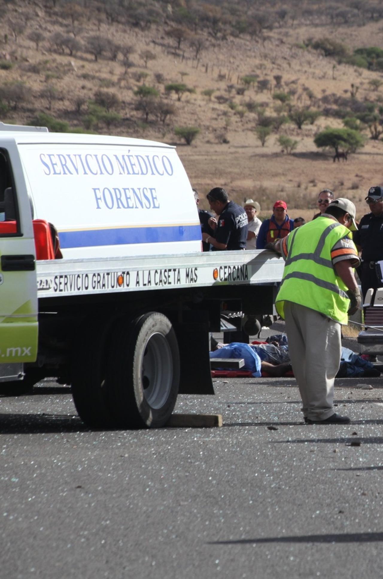 Identifican a víctima de accidente en la Durango-Zacatecas