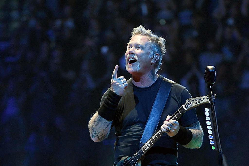 James Hetfield: conserje, papá y rockstar