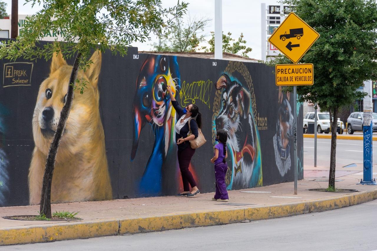 Arte urbano en Durango