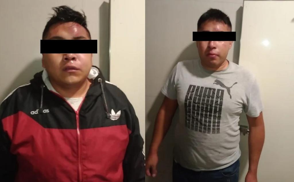 Ladrones de combi apresuran su detención para no ser golpeados