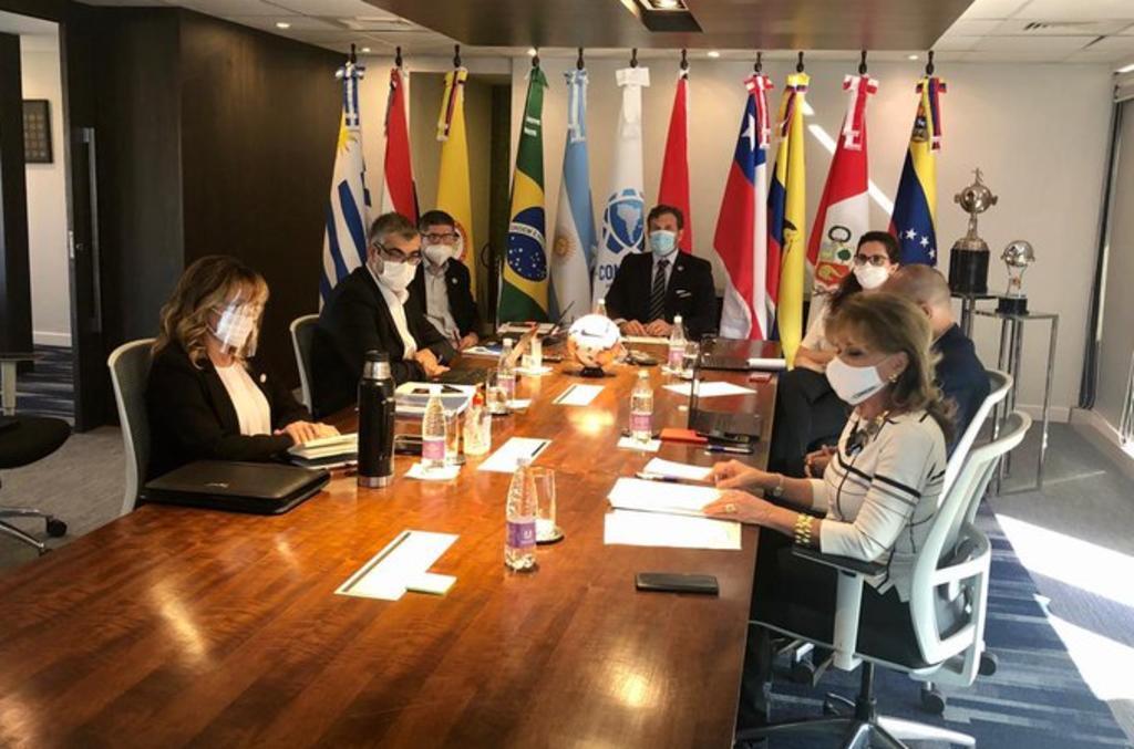Conmebol ratifica calendario y aprueba cambios en el reglamento