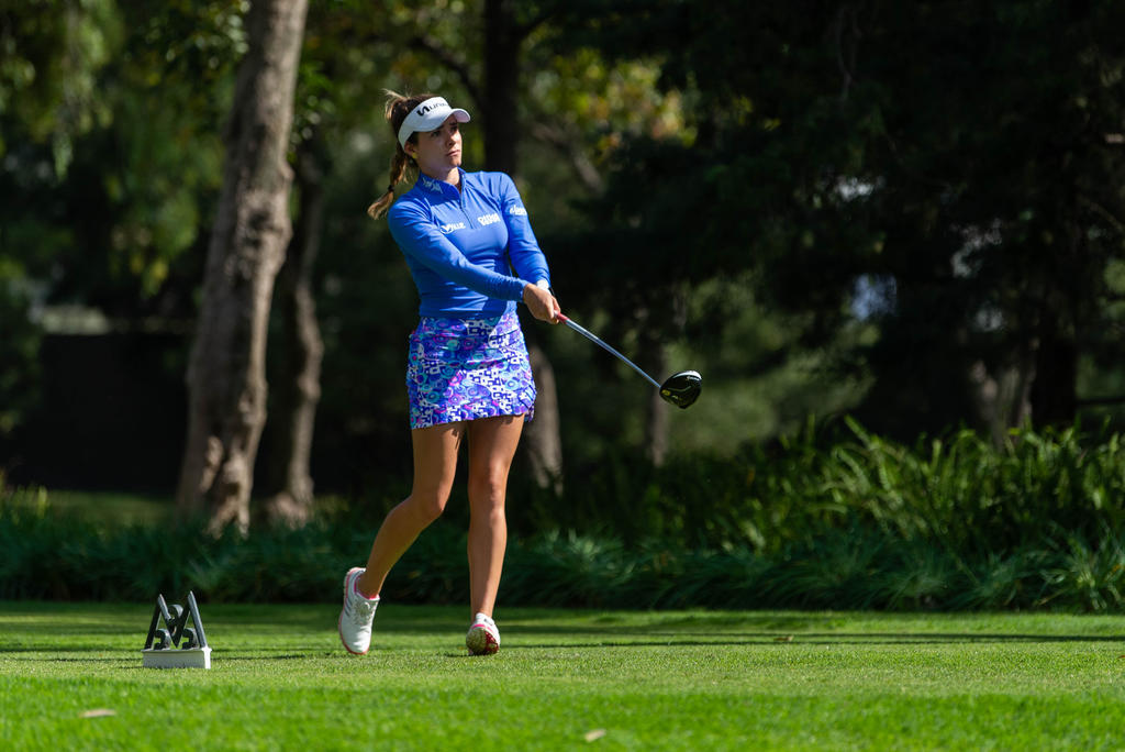María Fassi en búsqueda de un título dentro de la LPGA