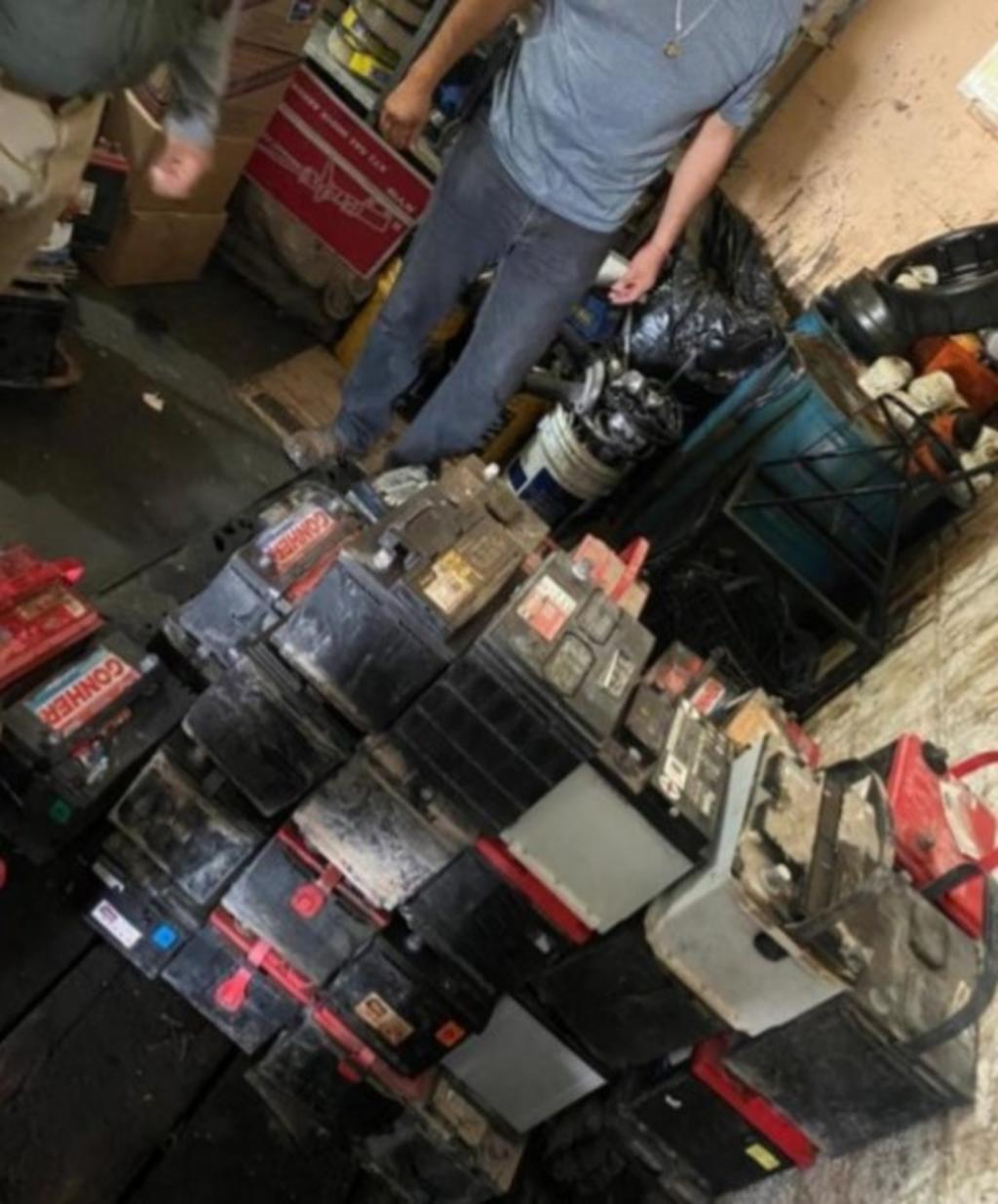 Realizan operativo en Gómez Palacio para detectar baterías robadas