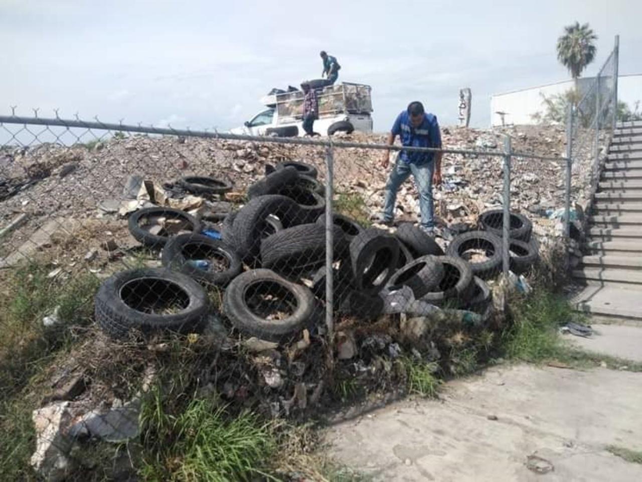 Intensifican labores de limpieza en Gómez Palacio
